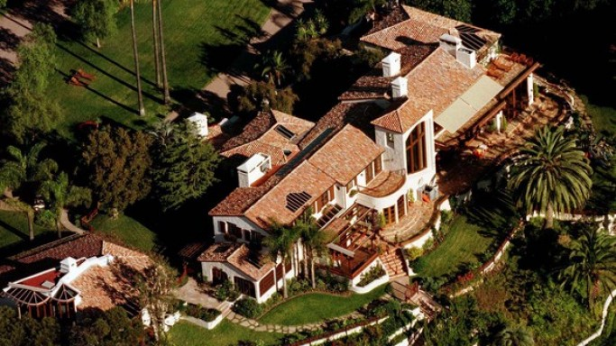 Steven Spielberg's mansion