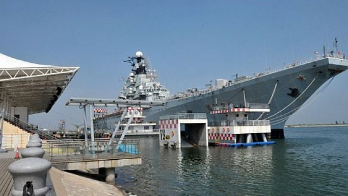 China transforms Russian aircraft carrier into a $15 million luxury hotel