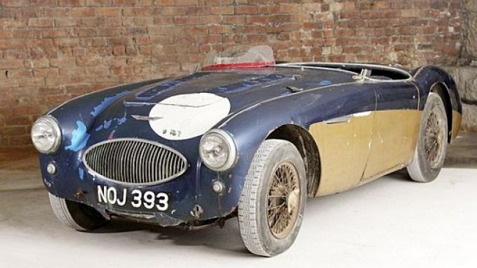 1953 Austin-Healey '100S' Special Test Car sells for a record $1.3M