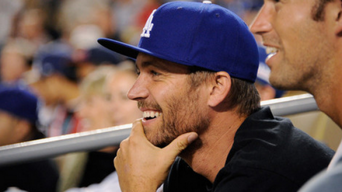 Known for his down to earth living style, the actor Paul Walker often wears his heart on his sleeve and can be seen sporting the official royal blue and white baseball hat