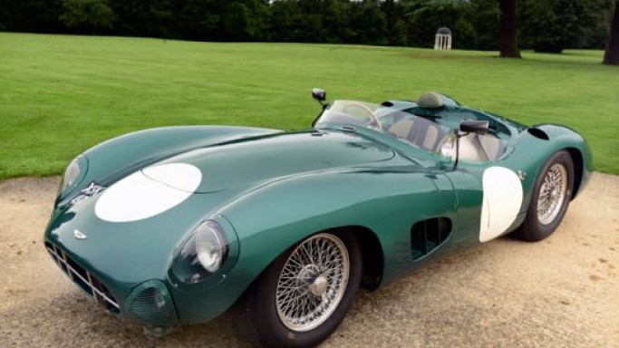 The only Aston Martin Le Mans winning race car to sell for $31.76 Million at Talacrest sale