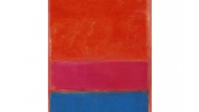 Mark Rothko's 1954 abstract painting Royal Red & Blue leads Sotheby's Contemporary Art Sale