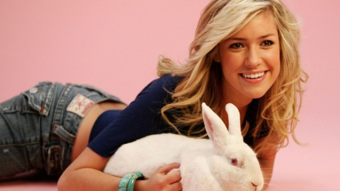 Kristin Cavallari assists the organization in its battle against the use of animals in laboratories and the clothing trade