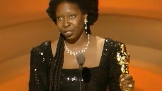 Whoopi likes to collect Bakelite Jewelry