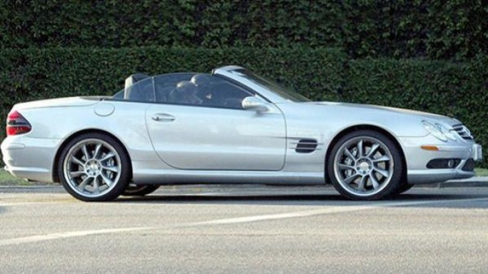 Seal drives Mercedes-Benz SL convertible