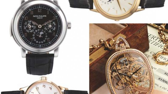Patek Philippe watches drives remarkable results at Antiquorum's Spring Auction in Hong Kong