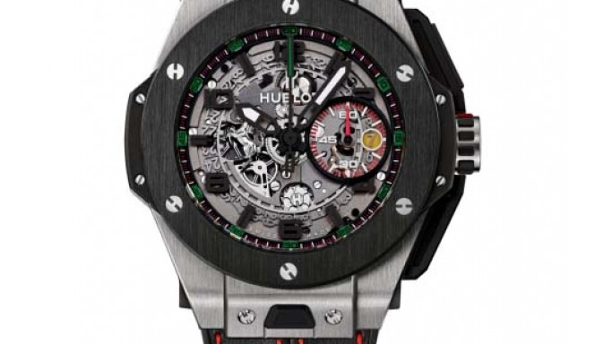 Ferrari-stamped Hublot Big Bang Ferrari U.A.E. Limited Edition watch celebrates 25 Years of Ferrari in the U.A.E