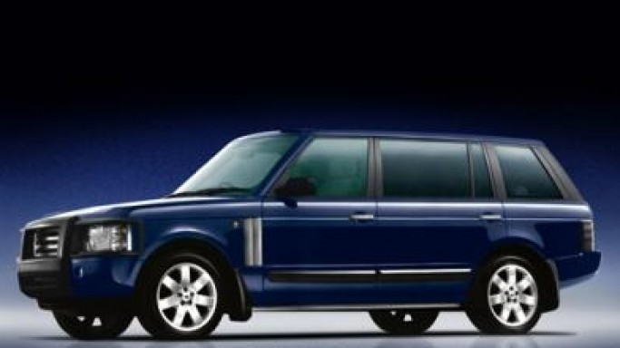 New Armored Range Rover Vogue For The Rich & Famous