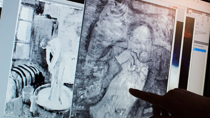 Hidden painting found under Picasso's The Blue Room