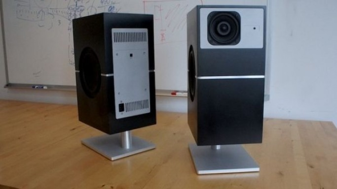 Compact, Wireless PS1 Speakers from Cue Acoustics