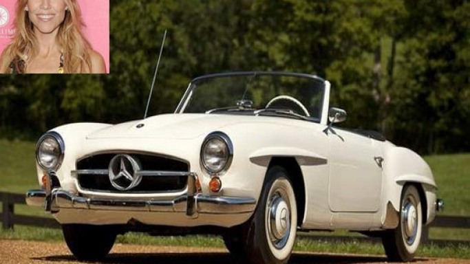 Sheryl Crow's 1959 Mercedes convertible sells for $130,000 at auction