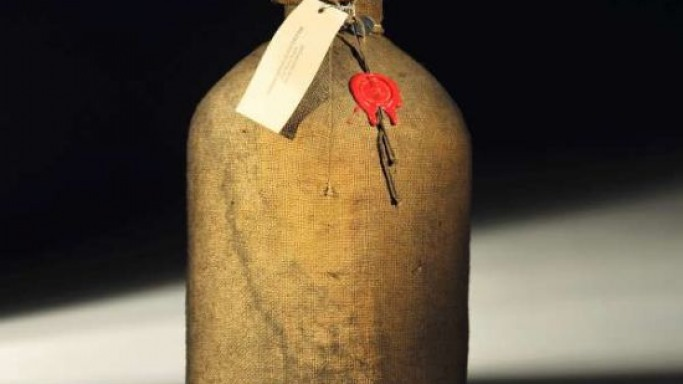 Rare bottle of Cognac Frapin sold for over $20,000