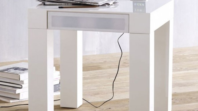 West Elm Parsons Audio End Table for your iPhone and iPad