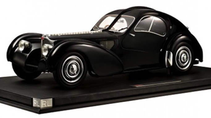 Ralph Lauren's sports car collection inspired 1:8 scale models for holiday season
