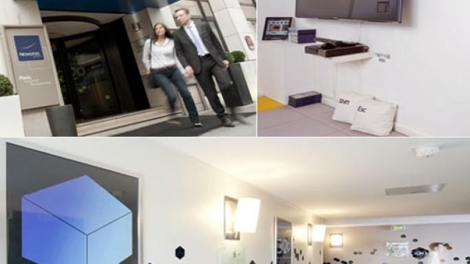 Microsoft and Novotel teams up for futuristic hotel room in France