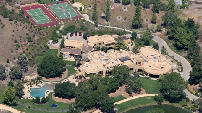 The grand estate of Will Smith