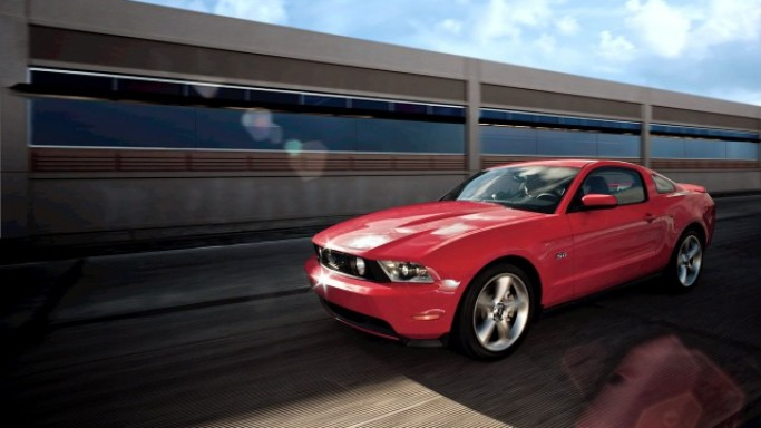 photo of Toby Keith Ford Mustang - car