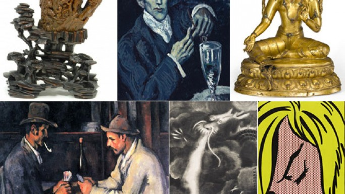 Notable art auctions around the world in 2012