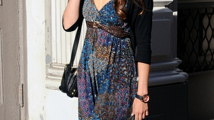 Nina Dobrev has been spotted number of times wearing Linea Pelle Dylan Triple Zip Shoulder Bag