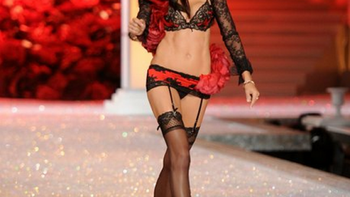 Adriana Lima was seen courting these sandals as she bared her 'sole' for the 2011 fashion Show of Victoria's Secret