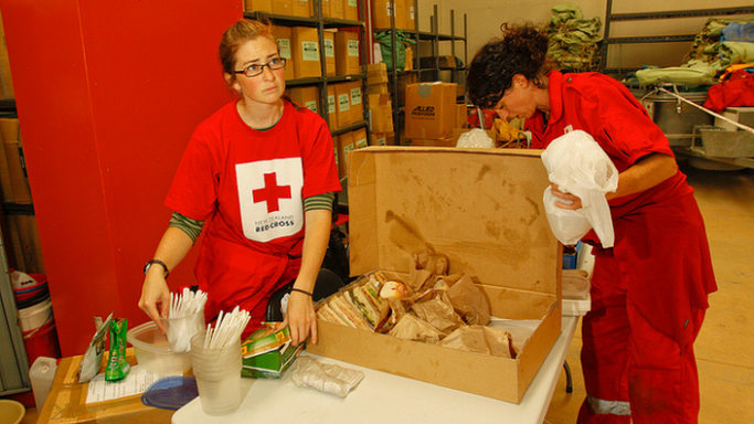 NOne of the most wealthy celebrities, Nicole also does charity work for Red Cross