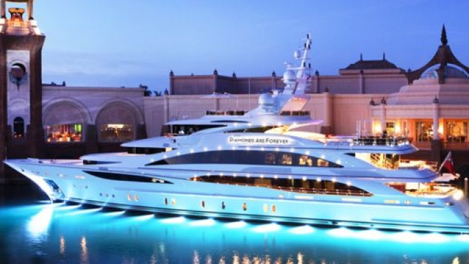 "Benetti debuts its longest yacht ""Diamonds Are Forever"" at the Cannes Boat Show"