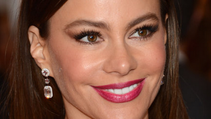Vergara was spotted wearing these high-end designer earrings to the 2012 Met Gala function.