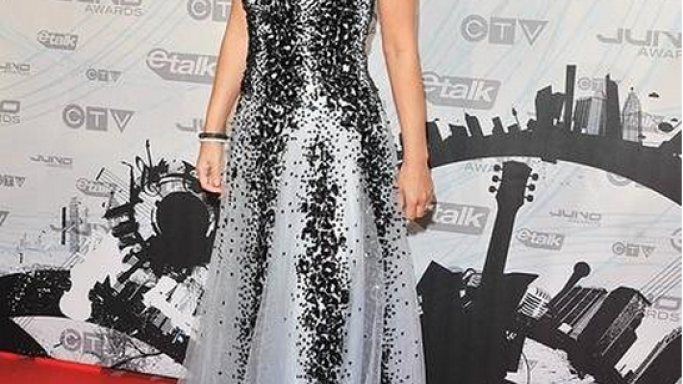The artist Shania Twain is the proud owner of this gown designed by renowned Lebanese fashion designer Zuhair Murad.