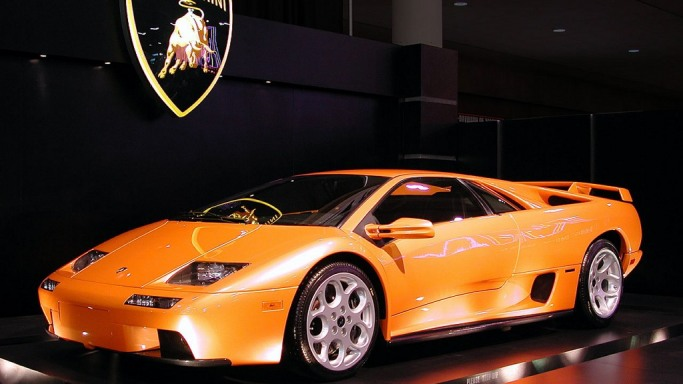 Lamborghini diablo price new