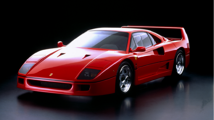 Ferrari F40 - Bornrich , Price , Features,Luxury factor, Engine ...