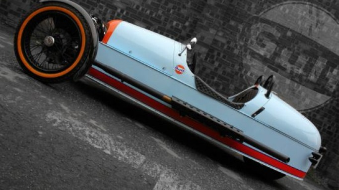 Morgan 3 Wheeler Gulf Edition – Only 100 cars will be made