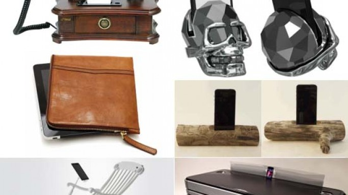 Luxurious gadgets and accessories for Apple Fanboys