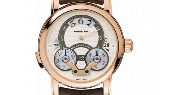 Montblanc Nicolas Rieussec Rising Hours is a chronograph for day and night