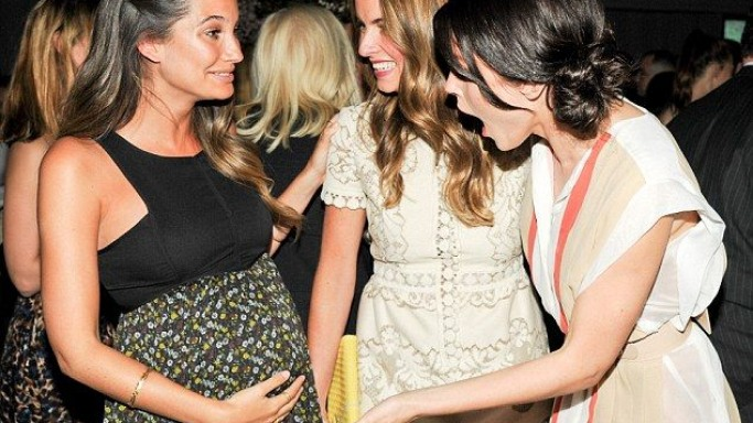 Lily Aldridge supports Baby Buggy