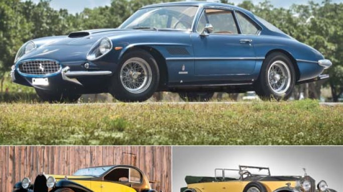 RM Auctions unveils highlights for Concorso d'Eleganza Villa d'Este