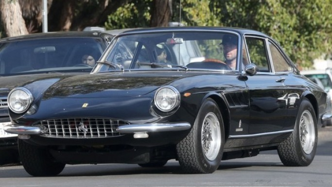 Adam Levine drives Ferrari 365 GTC