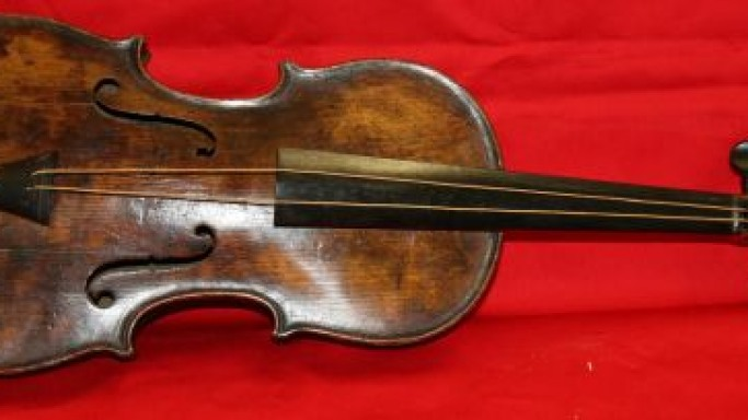 Titanic violin played by the bandmaster when the oceanliner sank has been found