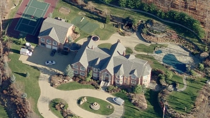Sean Combs mansion in New Jersey