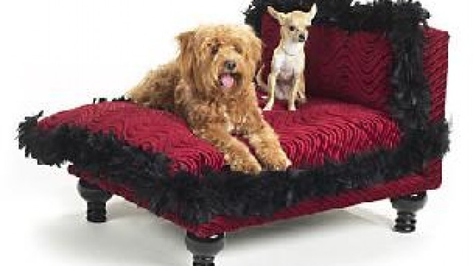 Luxurious Poochie Beds by Poochie of Beverly Hills