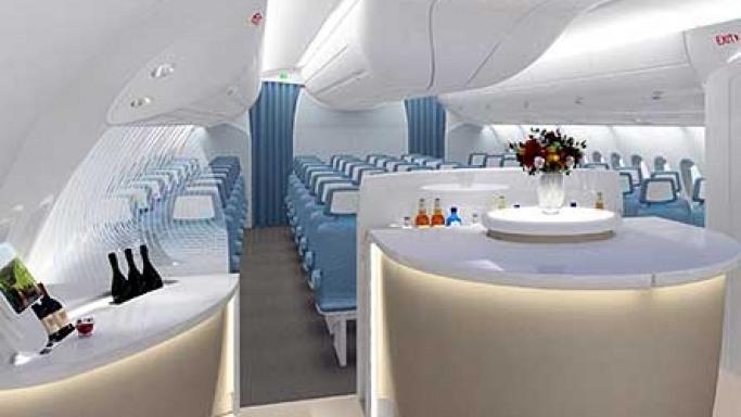 New Airbus A350 With BMW Interiors