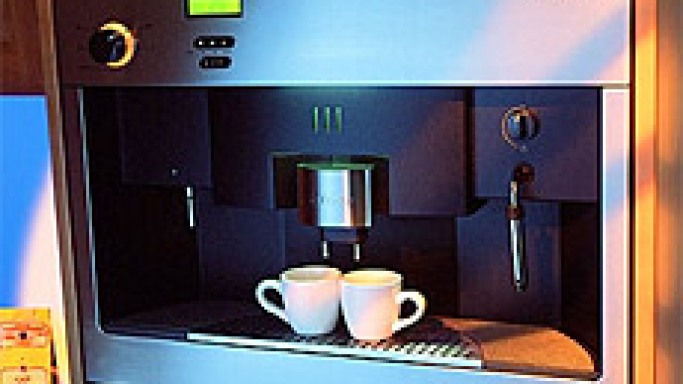 Fully Automatic In-Wall Miele Coffee System