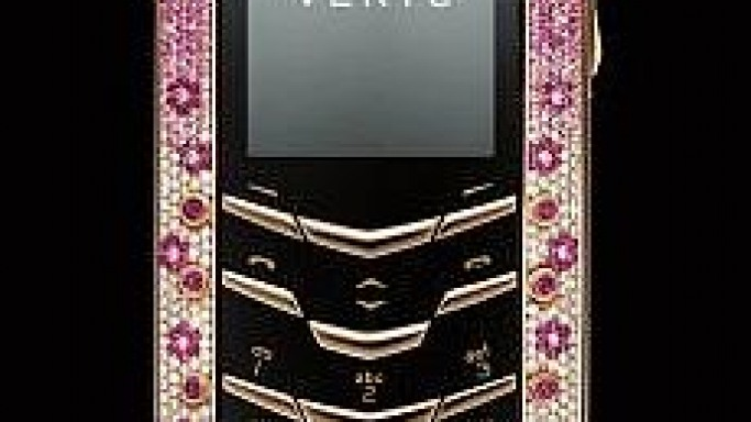 Vertu Goes Feminine with New Vertu Pink Diamond Signature Phone
