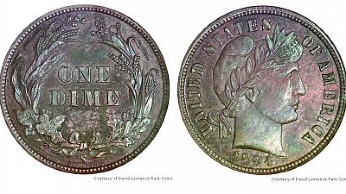 The 1894-S dime worth $1.9 million and a secret journey