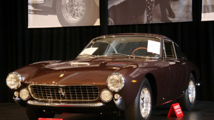 Steve McQueen's 1963 Ferrari Lusso to fetch $1 million