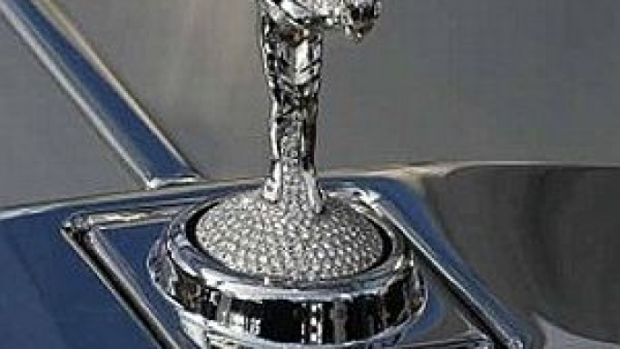 Rolls Royce gets the world's most expensive hood ornament