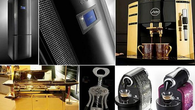 Top 10 Decked Out Kitchen Appliances for glamorized cooking