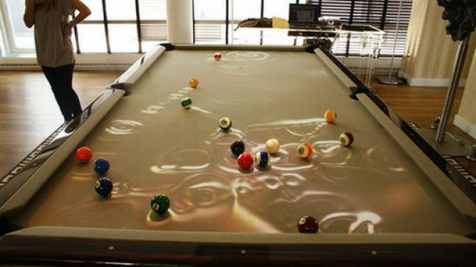 Obscura introduces coolest pool table ever