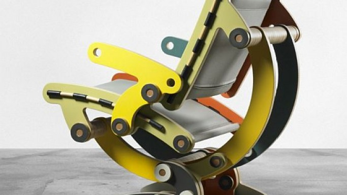 Kenneth Smythe chair embodies complex theories of nature