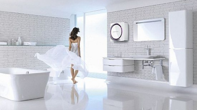 Electrolux unveils 'Shine' concept for future bathrooms