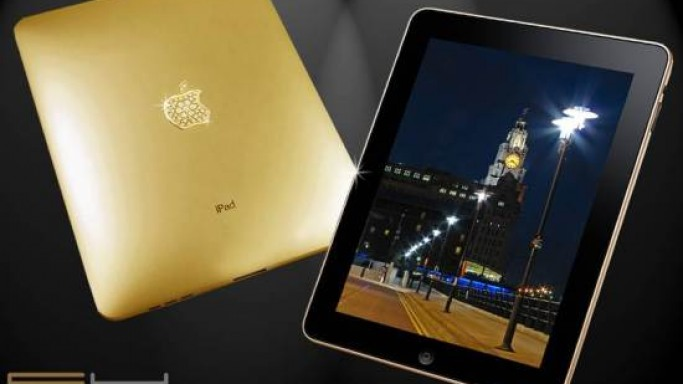 Goldstriker's gold iPad Supreme cashes in on the iPad craze
